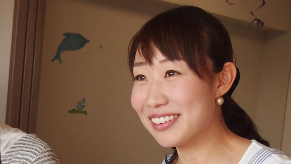 「Mama Café 子連れパン教室」の竹内絢香さん