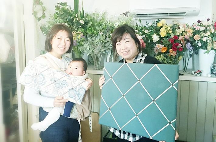阿久津さんとフレンチメモボード