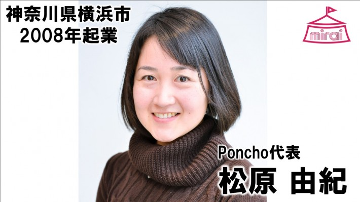松原由紀(神奈川県) Poncho代表