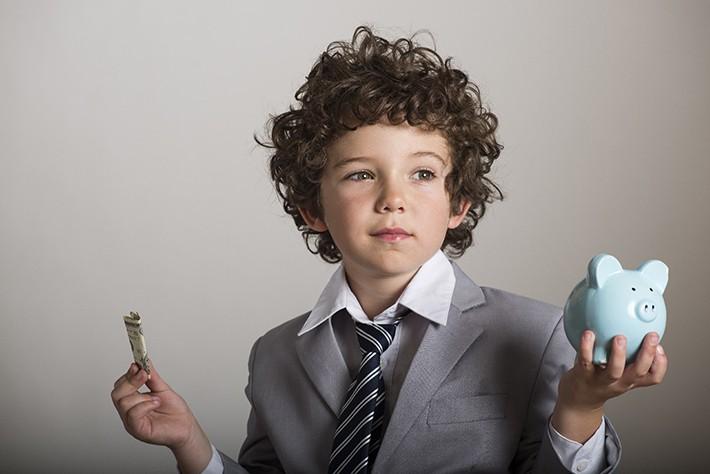 子供とお金(お小遣い)イメージ画像