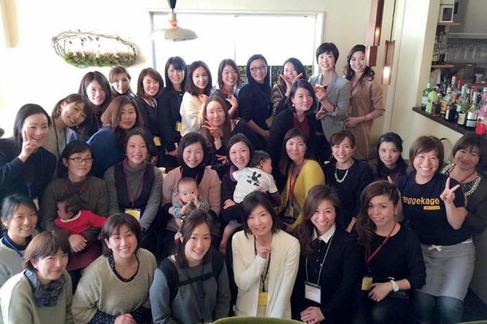 PowerWomen(パワーウーマン)地域交流会2016 千葉集合写真