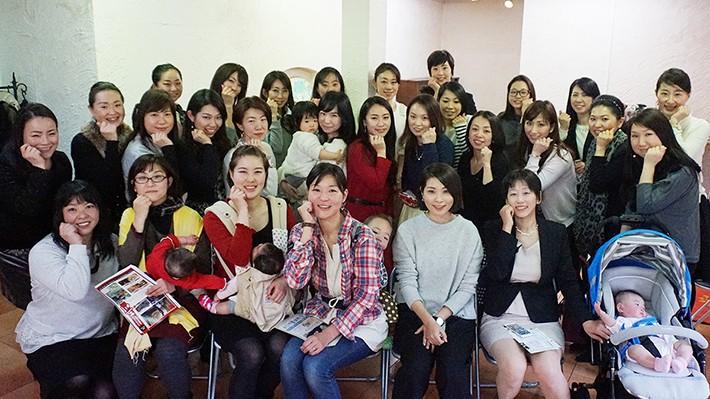 PowerWomen(パワーウーマン)地域交流会2016 東京集合写真
