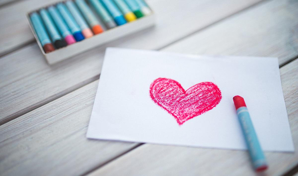 愛とハート型のイメージ画像