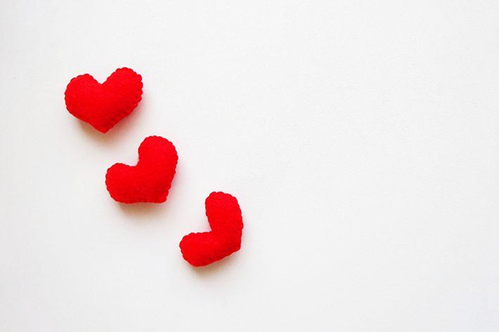 恋愛とハートのイメージ画像