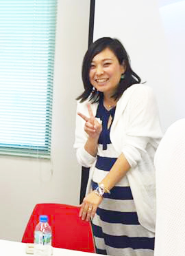 さいたま笑顔フェスタ実行委員長 渡邉琴美さん