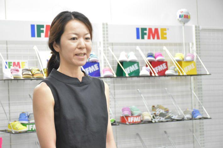 こども想いのくつえらびプロジェクト IFME×PowerWomen越恵美子さん