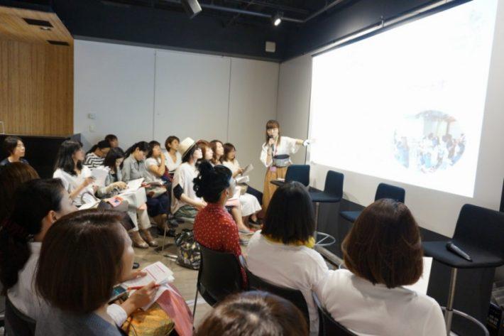 前回のPowerWomenFes!の様子@渋谷キャスト