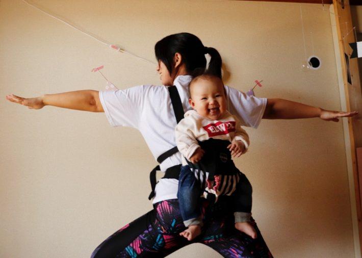 【無料・オンライン】5/20(水)10時・ベビーと一緒にできる! ベビーママのためのヨガ講座