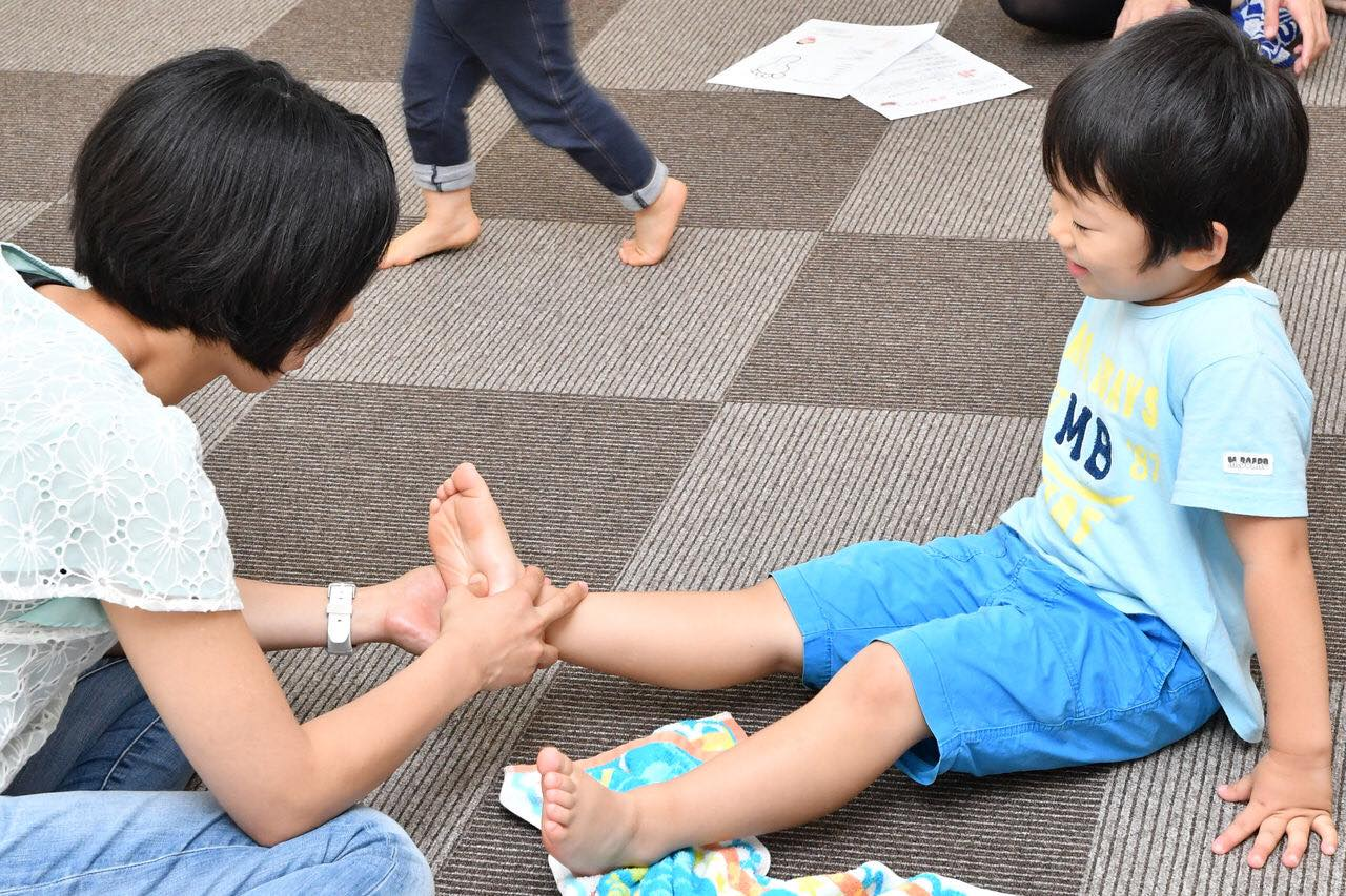 7/15水・14時45分受付【無料・オンライン】足育リフレ+おやこじてんしゃ勉強会