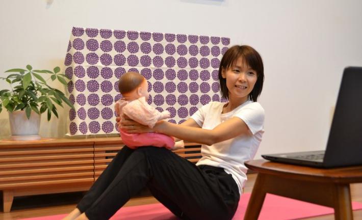 0~1才の赤ちゃんとママの親子ヨガ~親子で楽しむ、ゆっくりリラックスヨガ~